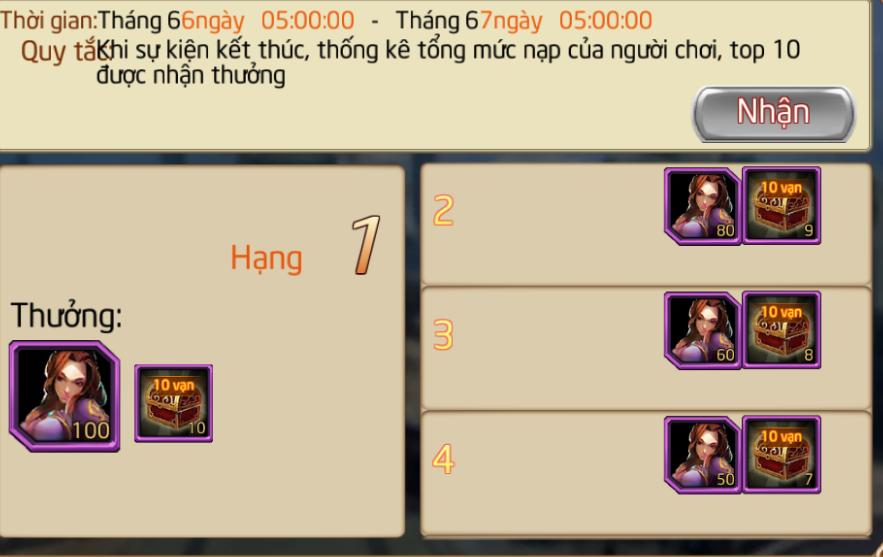 CHUỖI SỰ KIỆN : ĐUA TOP MÁY CHỦ MỚI - 1
