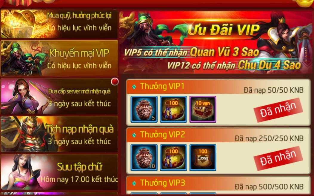 Ưu Đãi Vip - 1