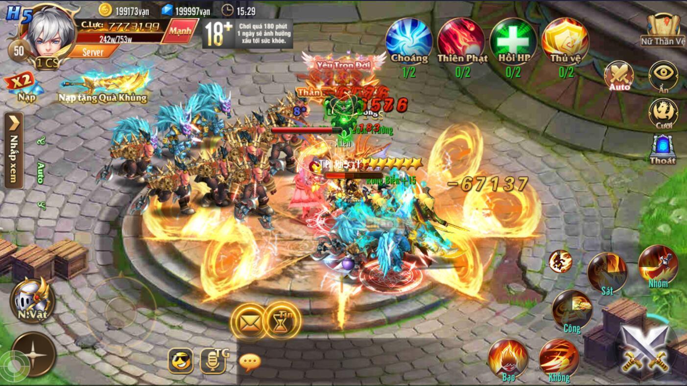 [Hoạt Động] Nữ Thần Vệ trong Kỵ Sĩ Rồng - Dragon Knights - 3