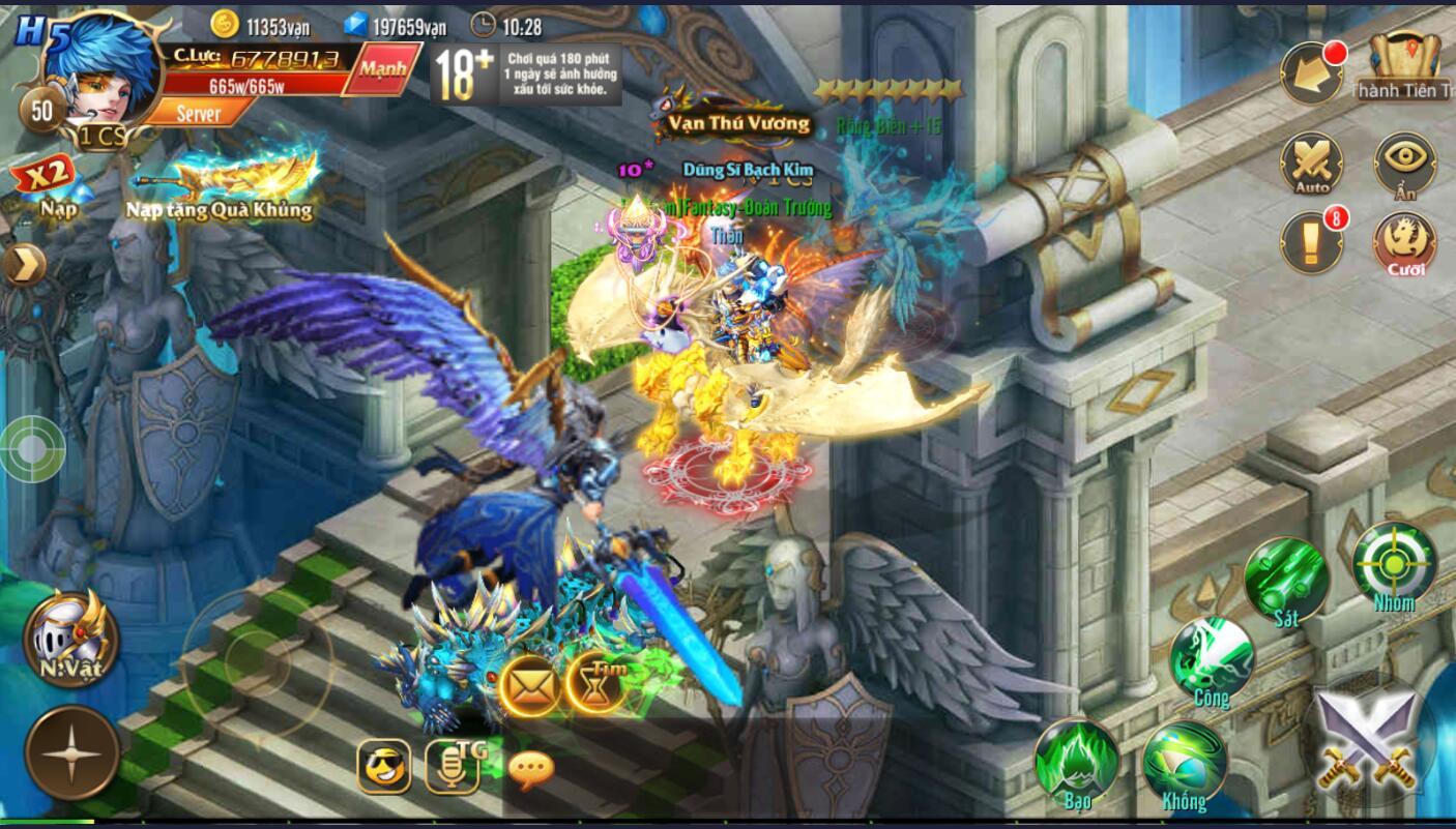 [Hoạt Động] Quái Nhiễu trong Kỵ Sĩ Rồng - Dragon Knights - 1