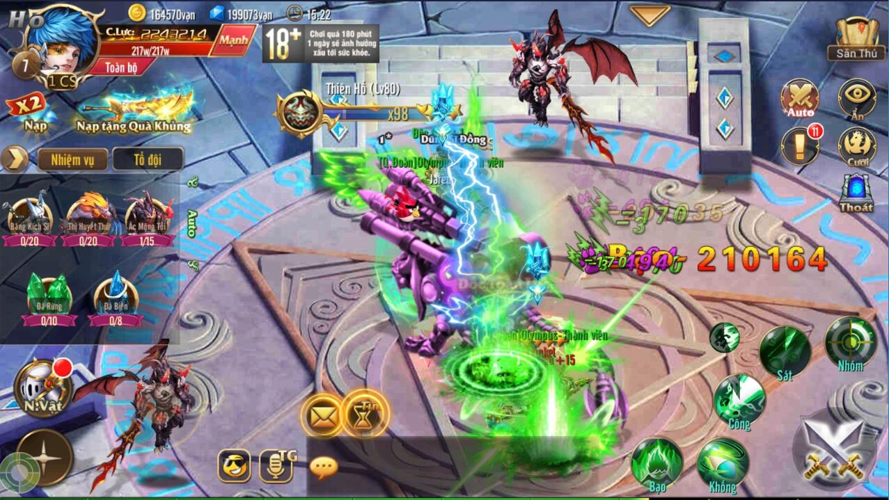 [Hoạt Động] Săn Bắn Liên SV trong Kỵ Sĩ Rồng - Dragon Knights - 4