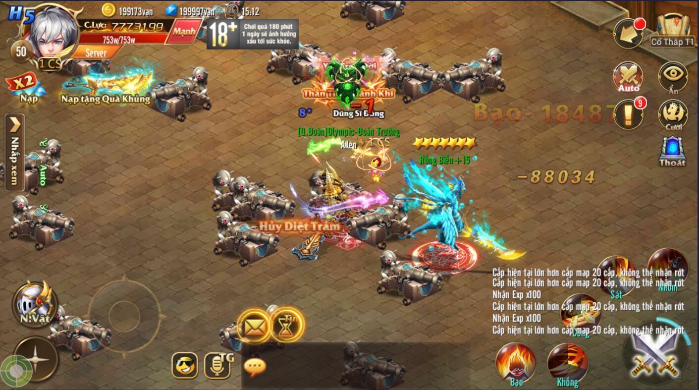 [Hoạt Động] Tầm Bảo trong Kỵ Sĩ Rồng - Dragon Knights - 3