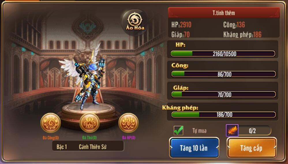 [Hướng dẫn] Tăng chiến lực trong Kỵ Sĩ Rồng - Dragon Knights - 10