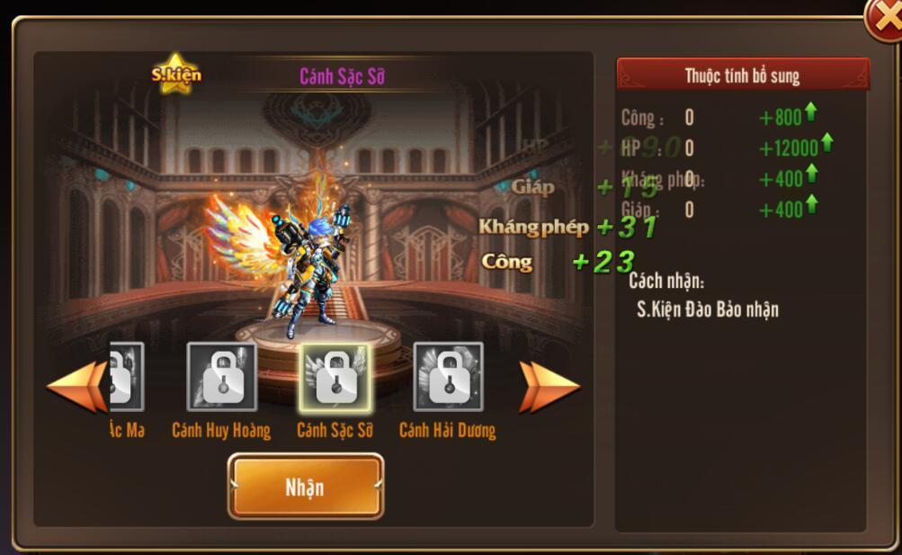 [Hướng dẫn] Tăng chiến lực trong Kỵ Sĩ Rồng - Dragon Knights - 11
