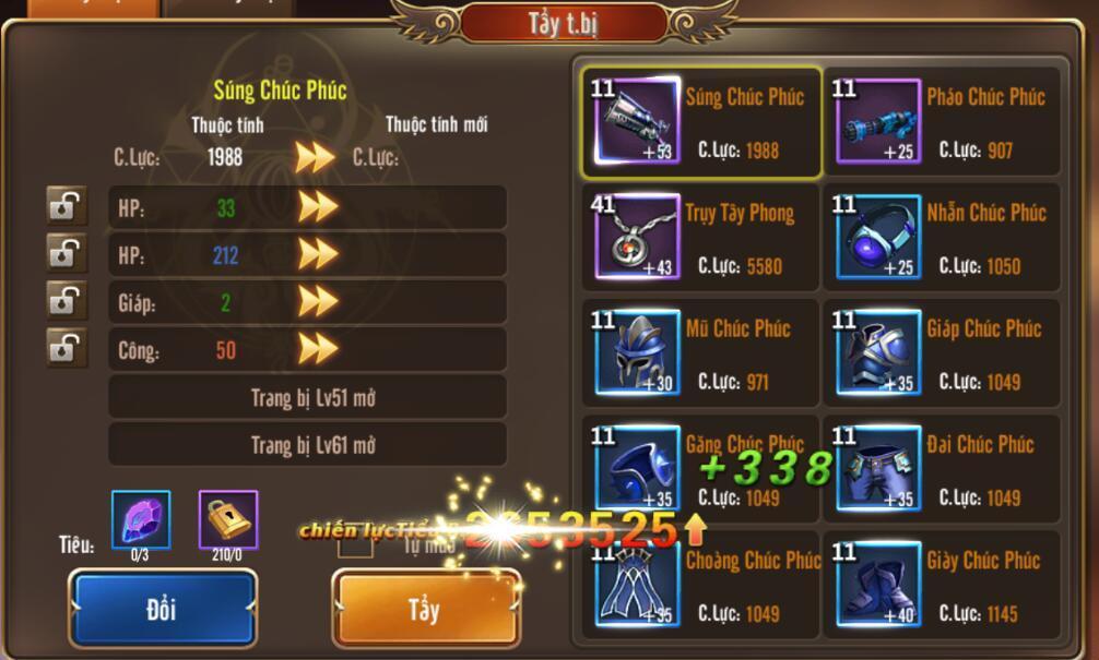 [Hướng dẫn] Tăng chiến lực trong Kỵ Sĩ Rồng - Dragon Knights - 5
