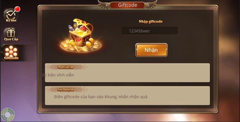 [Hướng Dẫn] Nhập Giftcode trong Kỵ Sĩ Rồng - Dragon Knights - 5