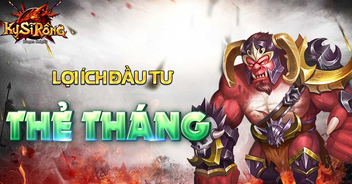 [Tân Thủ] Lợi ích đầu tư thẻ tháng trong Kỵ Sĩ Rồng - Dragon Knights - 1