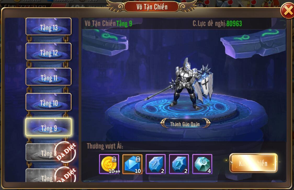 [Phụ Bản] Vô Tận Chiến trong Kỵ Sĩ Rồng - Dragon Knights - 3
