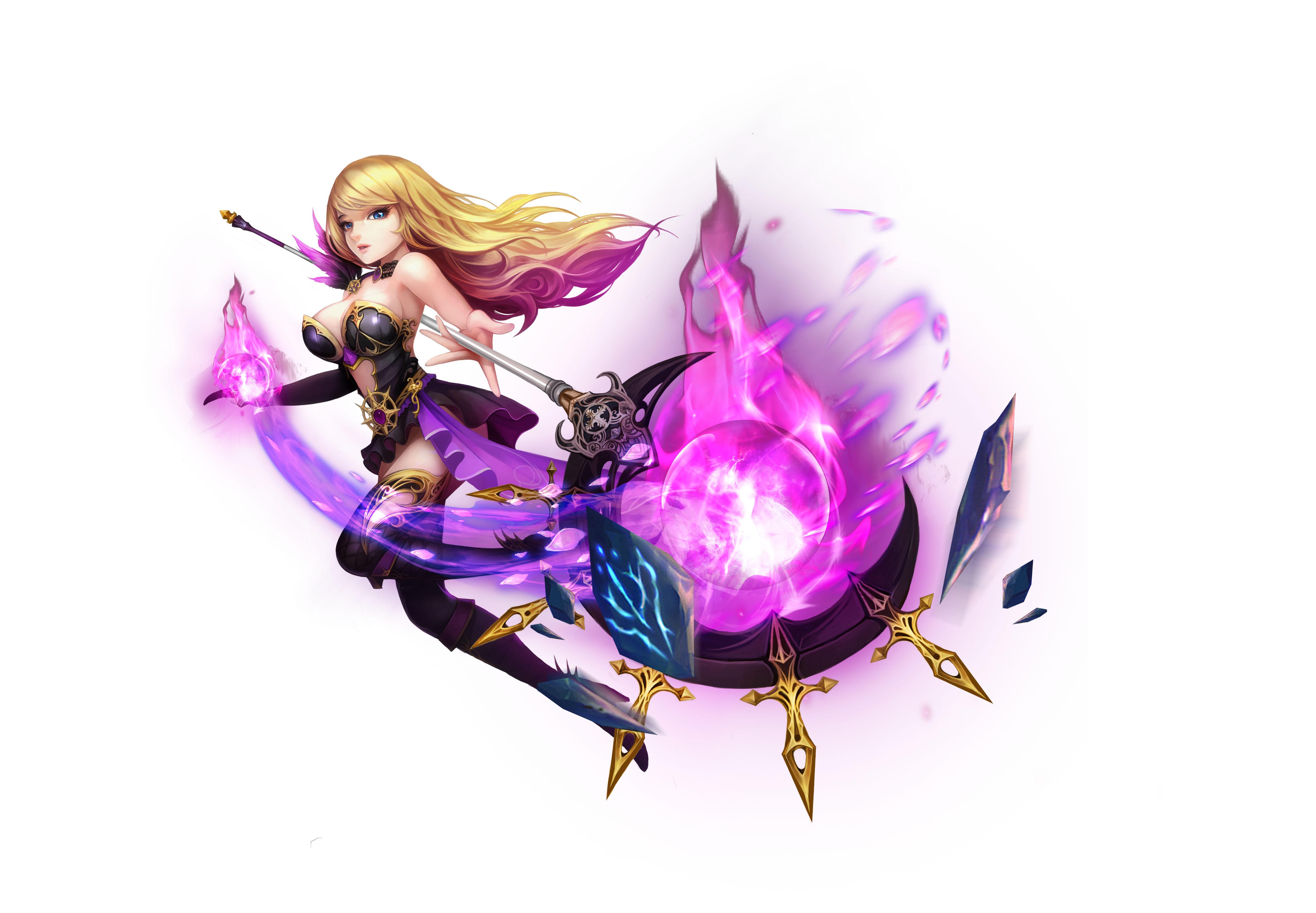 [Tân Thủ] Chức Nghiệp Pháp Sư trong Kỵ Sĩ Rồng - Dragon Knights - 1