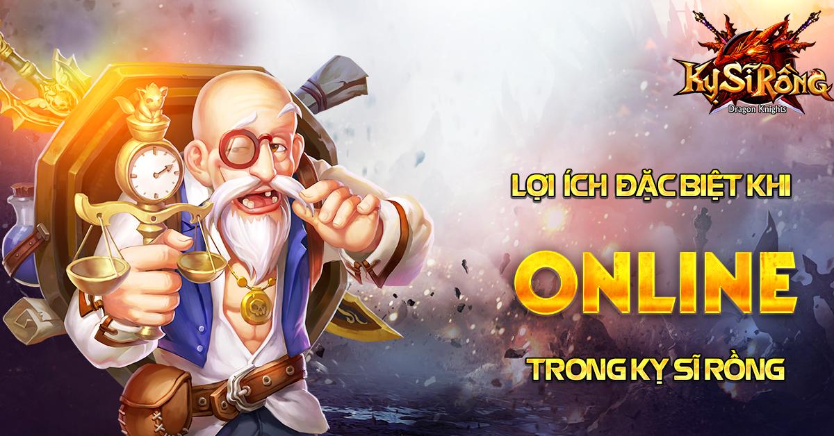 [Sự kiện] Online nhận quà thả ga trong Kỵ Sĩ Rồng - Dragon Knights - 1