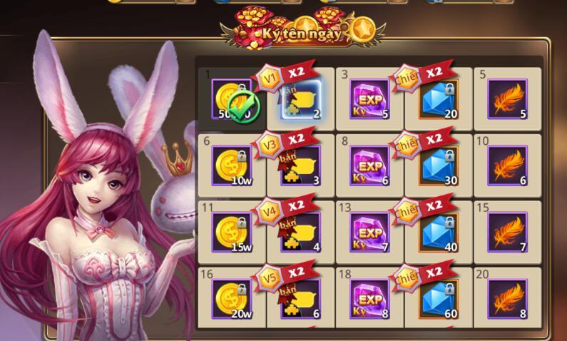 [Tân Thủ] Online nhận quà hàng ngày trong Kỵ Sĩ Rồng - Dragon Knights - 3