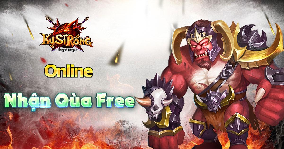 [Tân Thủ] Online nhận quà hàng ngày trong Kỵ Sĩ Rồng - Dragon Knights - 1