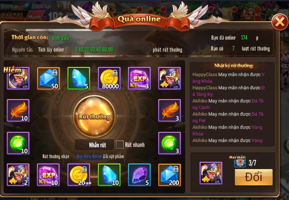 [Sự kiện] Online nhận quà thả ga trong Kỵ Sĩ Rồng - Dragon Knights - 2