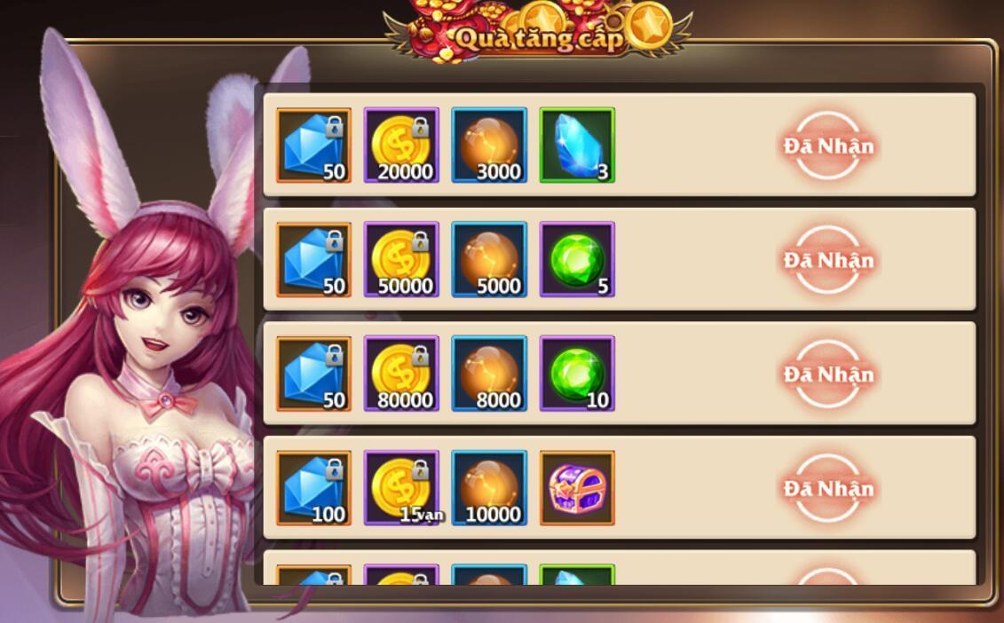 [Tân Thủ] Online nhận quà hàng ngày trong Kỵ Sĩ Rồng - Dragon Knights - 4