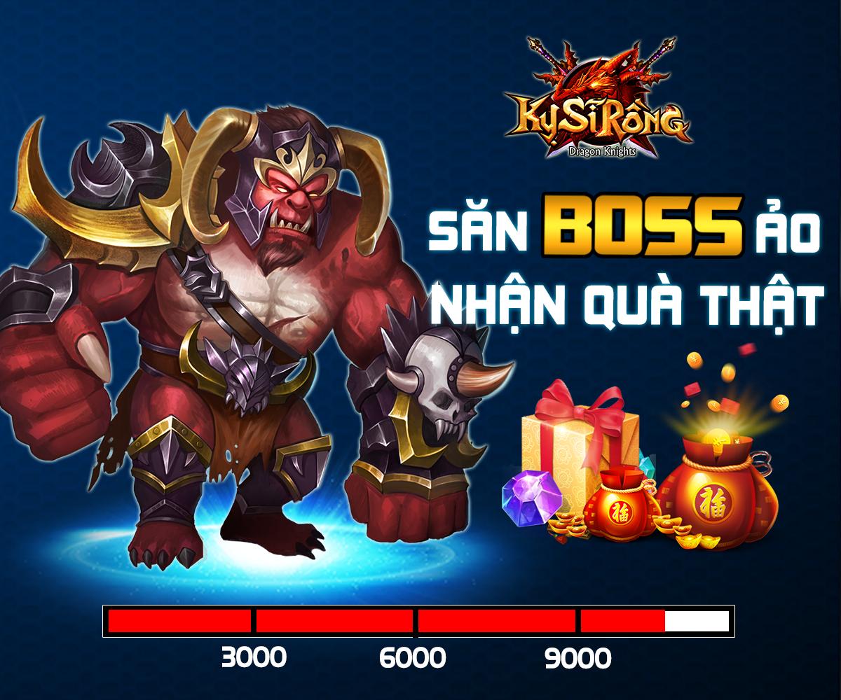 [Event Fanpage] Săn Boss Ảo - Nhận Quà Thật - 1