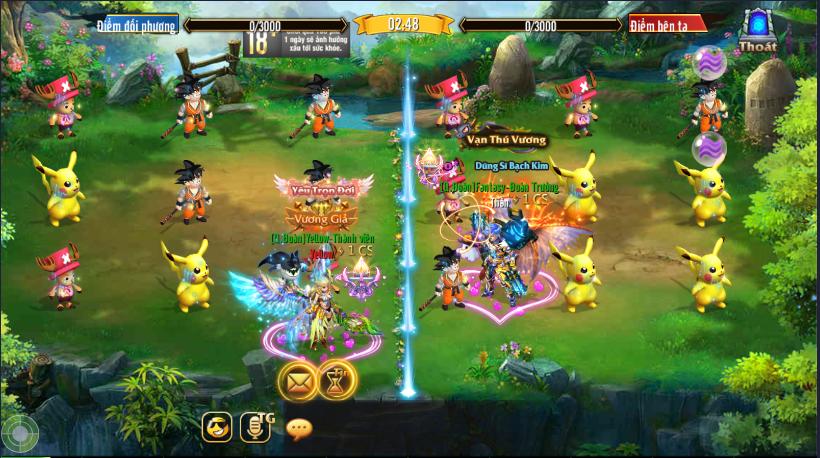 [Tính Năng] Jewel Liên Server trong Kỵ Sĩ Rồng - Dragon Knights - 4