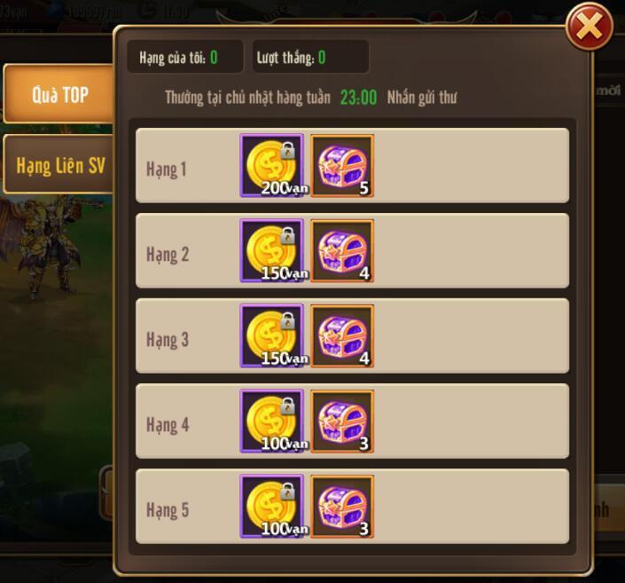 [Tính Năng] Jewel Liên Server trong Kỵ Sĩ Rồng - Dragon Knights - 5