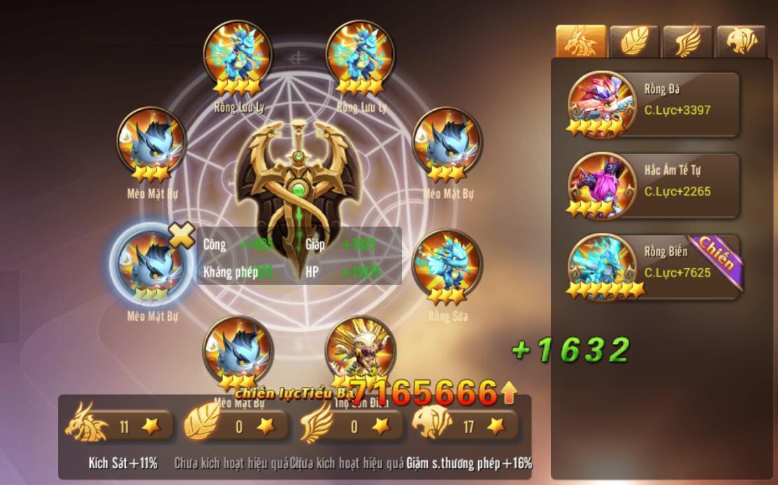 [Tính Năng] Pet trong Kỵ Sĩ Rồng - Dragon Knights - 11