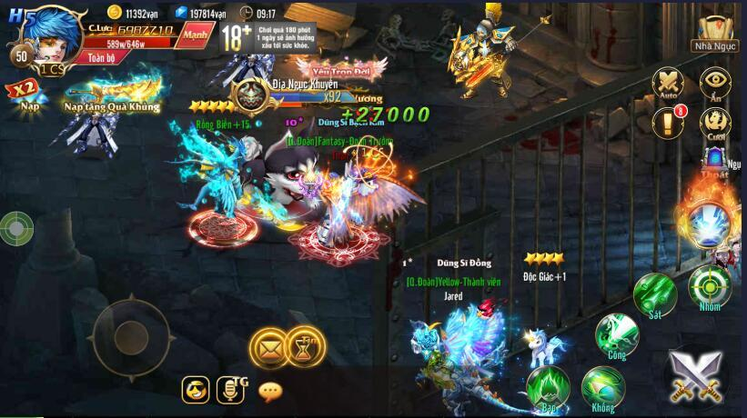 [Tính Năng] PK trong Kỵ Sĩ Rồng - Dragon Knights - 3
