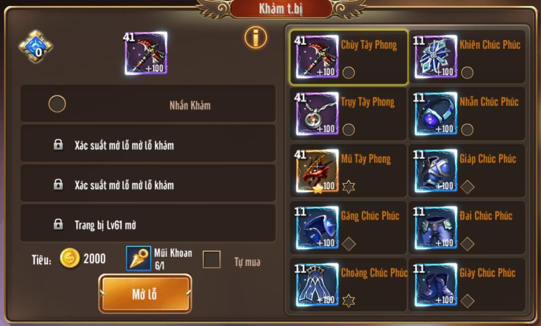 [Tính Năng] Rèn trong Kỵ Sĩ Rồng - Dragon Knights - 5