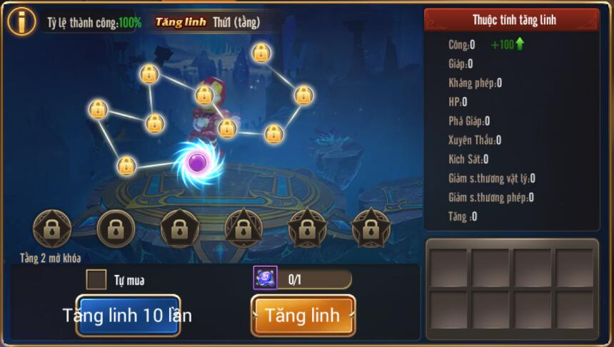 [Tính Năng] UPDATE - Tăng Linh Ngoại Trang trong Kỵ Sĩ Rồng - 1