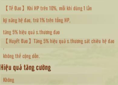 [Tông Phái] Đao Tông - 6