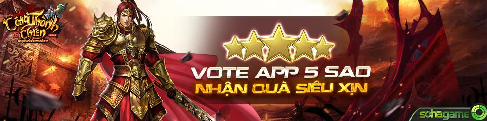 [Hướng Dẫn] Vote App 5 Sao - 1