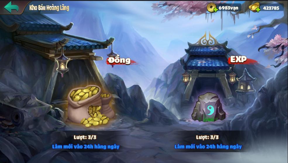 [Hoạt Động - PVE] Kho Báu Hoàng Lăng và Kẻ Địch Xâm Nhập - 1