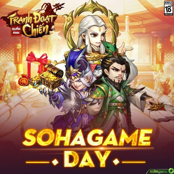 SohaGame Day Quà Tặng Đặc Biệt