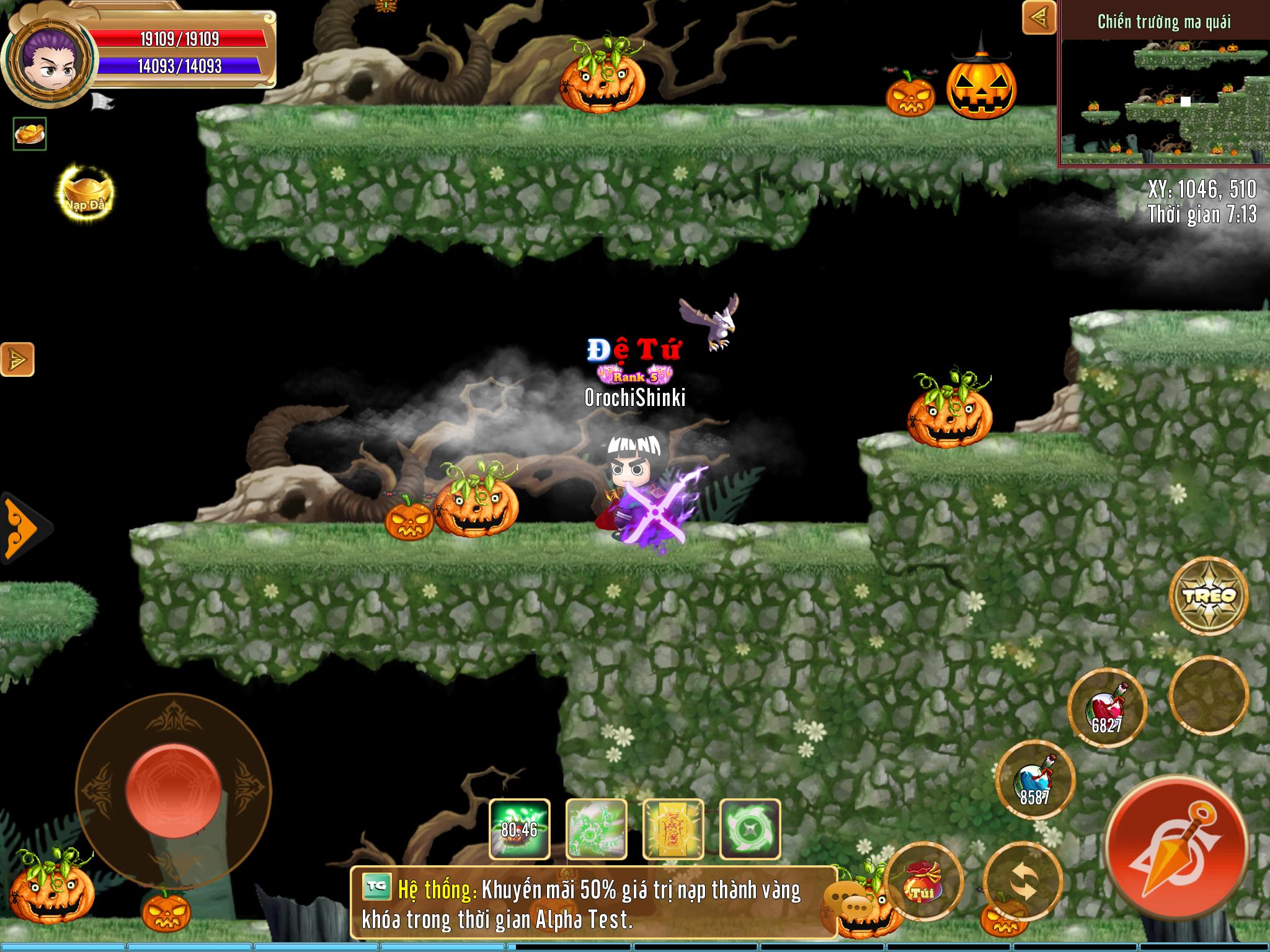 [Sự Kiện] Hallowen bao trùm Làng Lá Phiêu Lưu Ký - 8