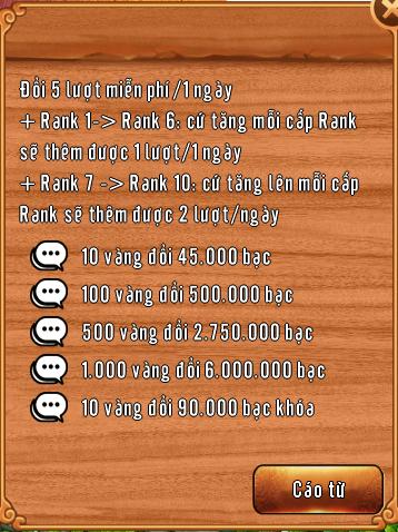 [Tính Năng] Đổi Bạc Và Tinh Thạch Trong Làng Lá Phiêu Lưu Ký - 5