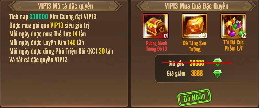 [Tính Năng] Cấp VIP - Phúc Lợi VIP - 17