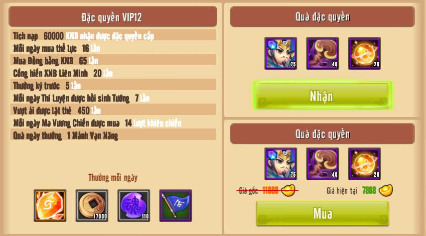 [Giới Thiệu] Cấp VIP - Phúc Lợi VIP - 16