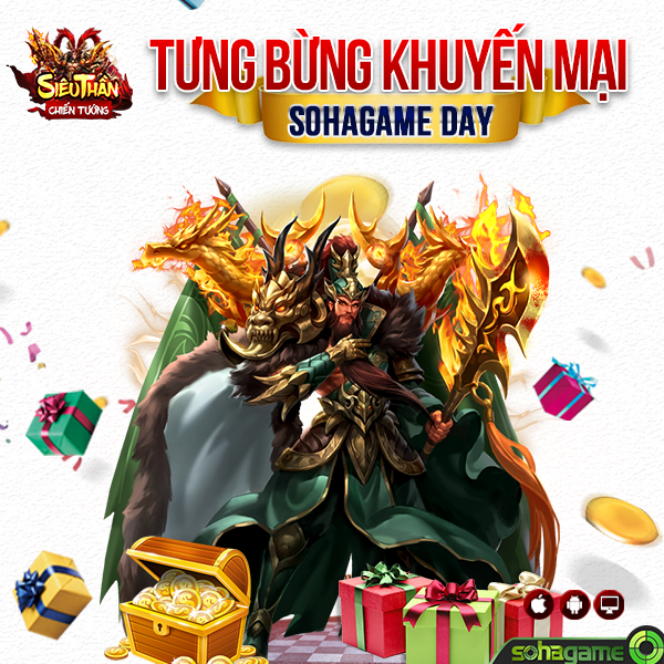 [ HOT EVENT ] Big Sale - SohaGame Day - 1