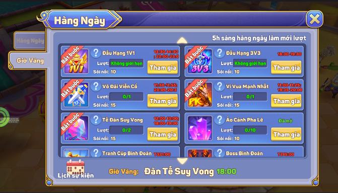 [Hướng Dẫn] Chơi Game Liên Minh Bóng Tối - 5