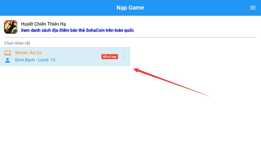 [Hướng Dẫn] - Nạp KNB Vào Game Bằng Website - 3
