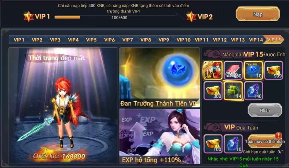 ƯU ĐÃI MỞ THEO CẤP VIP - 2