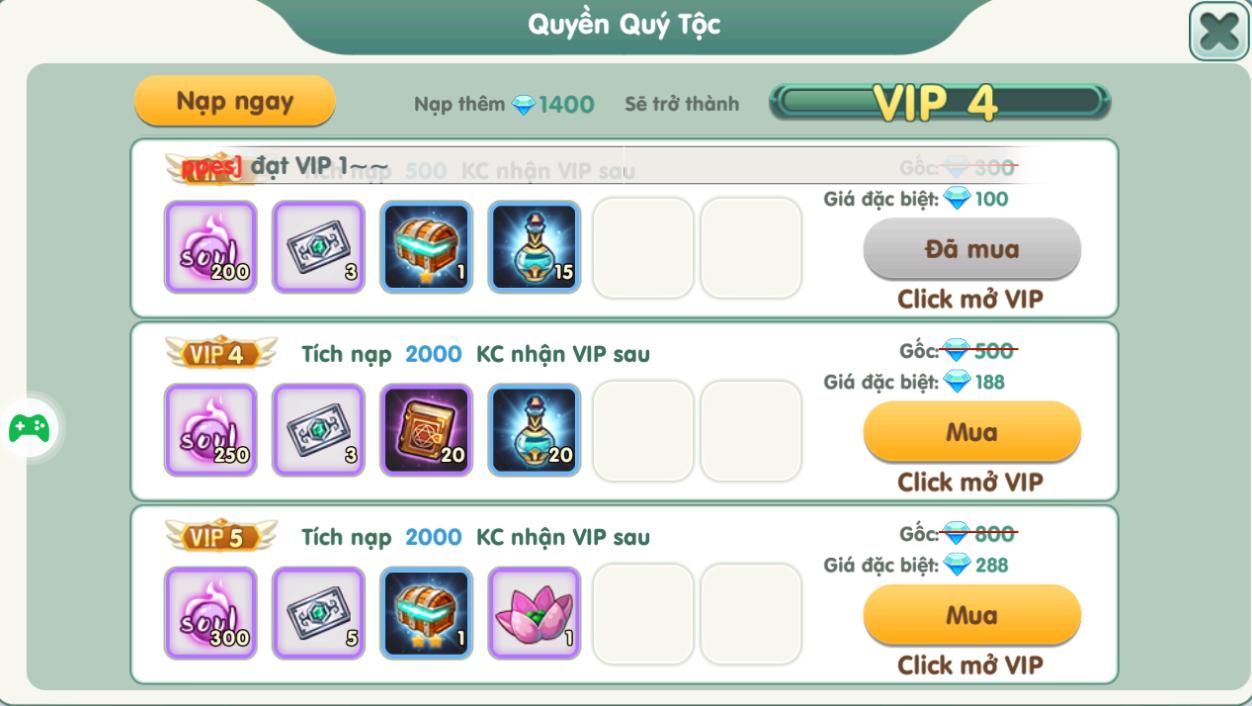 ĐẶC QUYỀN VIP - 2