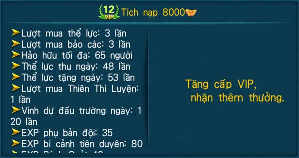 [Hệ Thống] - VIP - Thần Kiếm 3D - 12