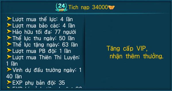 [Hệ Thống] - VIP - Thần Kiếm 3D - 24