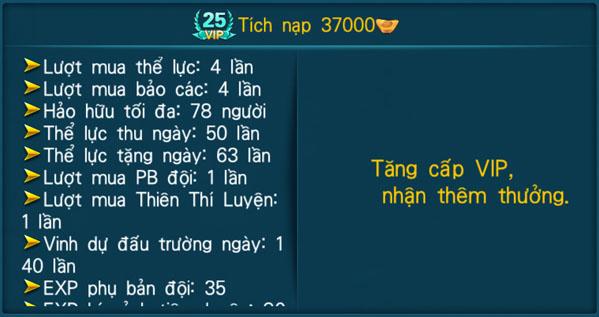 [Hệ Thống] - VIP - Thần Kiếm 3D - 25