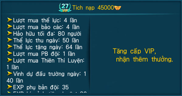 [Hệ Thống] - VIP - Thần Kiếm 3D - 27