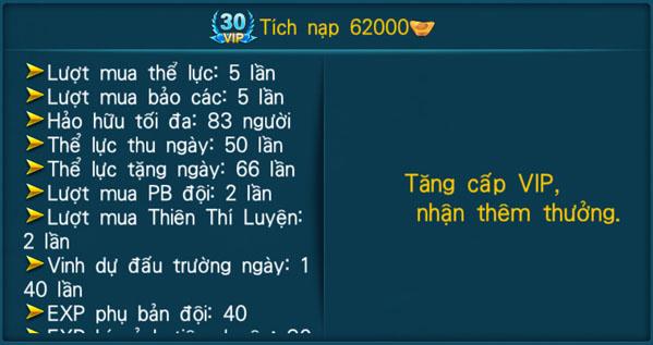 [Hệ Thống] - VIP - Thần Kiếm 3D - 30