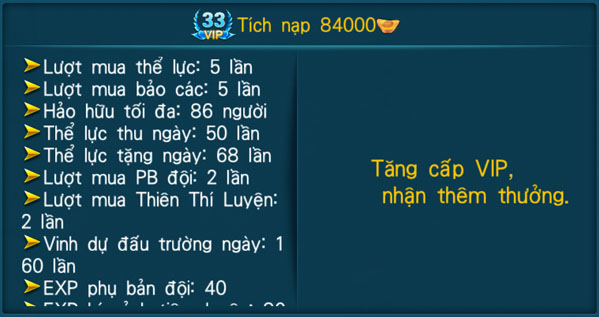 [Hệ Thống] - VIP - Thần Kiếm 3D - 33