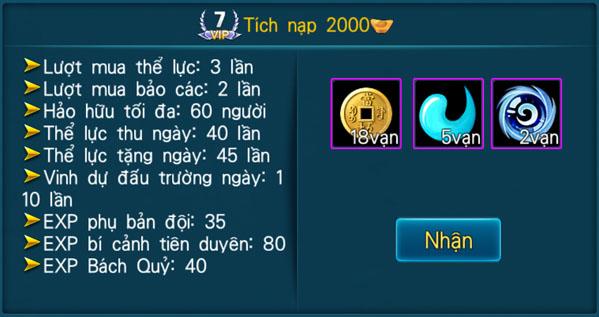 [Hệ Thống] - VIP - Thần Kiếm 3D - 7
