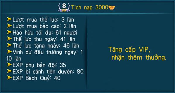 [Hệ Thống] - VIP - Thần Kiếm 3D - 8