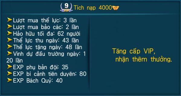 [Hệ Thống] - VIP - Thần Kiếm 3D - 9