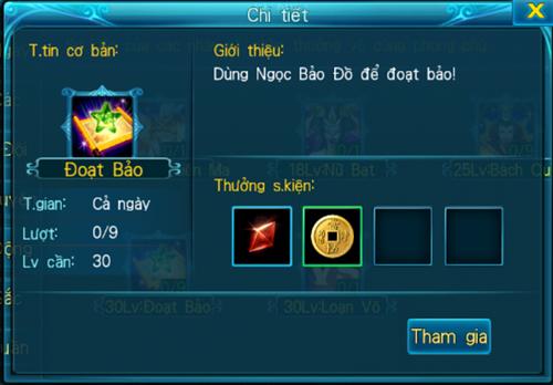 [Hoạt Động] - Đoạt Bảo - Thần Kiếm 3D - 3
