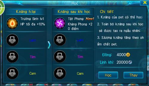 [Tính Năng] - PET - Thần Kiếm 3D - 9