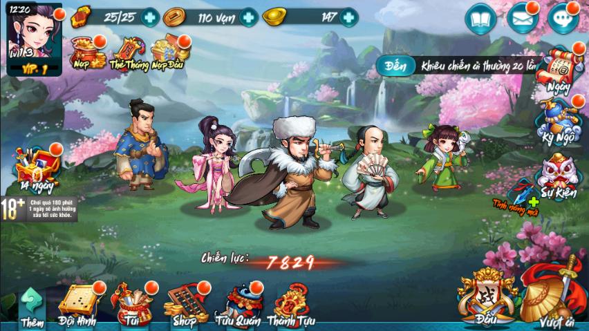 Kịch Bản Chơi Game - 1